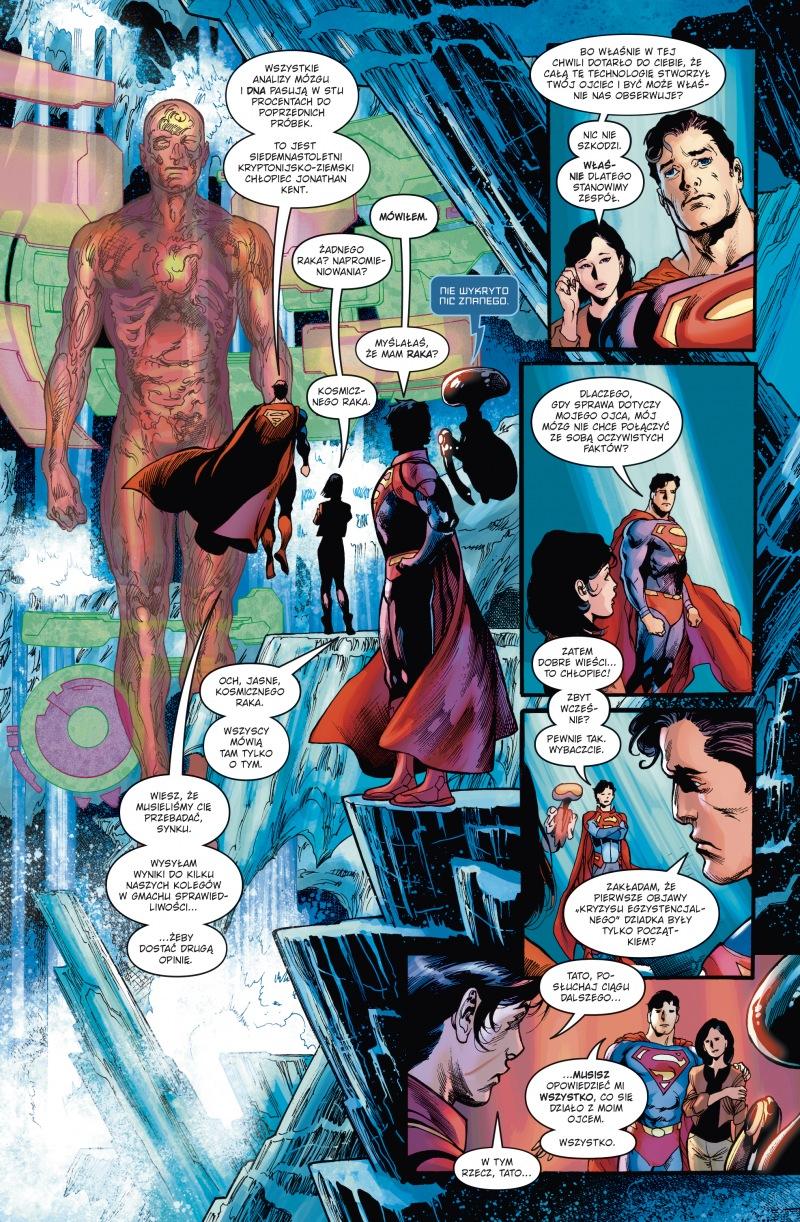 Superman. Saga jedności. Ród El. Tom 2 - plansze