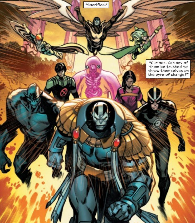 X-Men #1 - materiały promocyjne