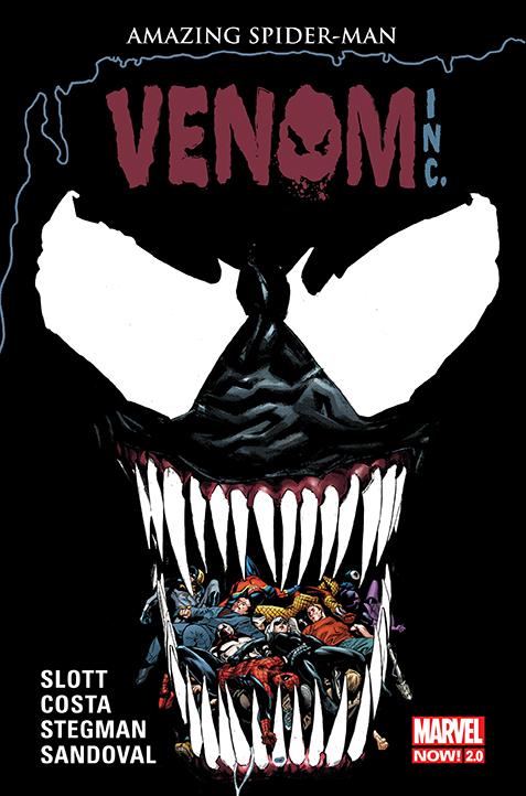 Amazing Spider-Man – Globalna sieć. Venom Inc., tom 8 okładka