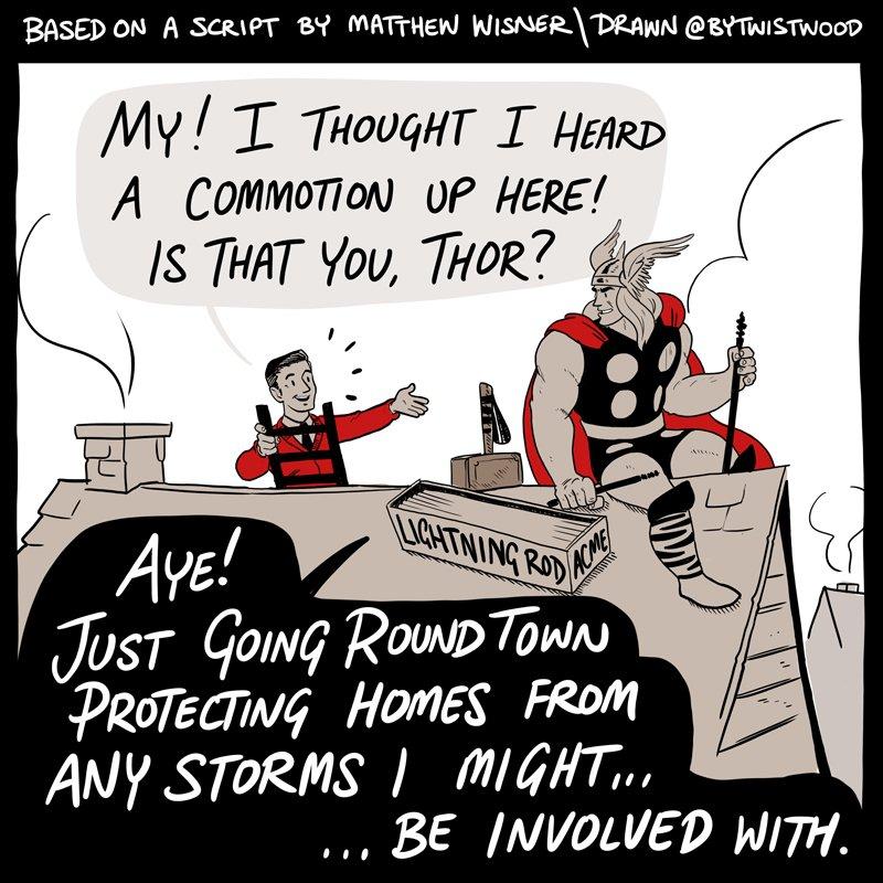 Mr Rogers meets Thor - plansze
