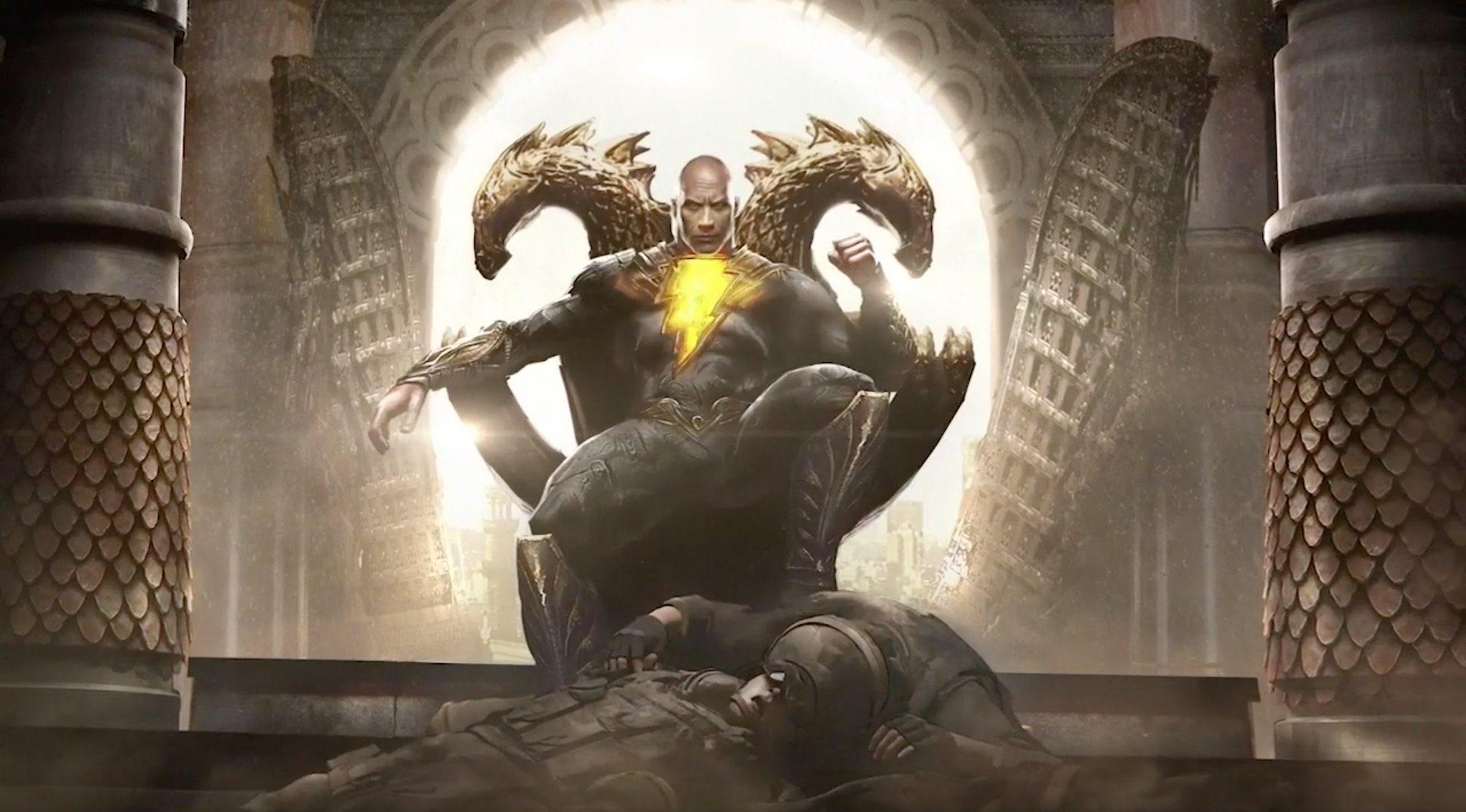 Black Adam - grafiki koncepcyjne