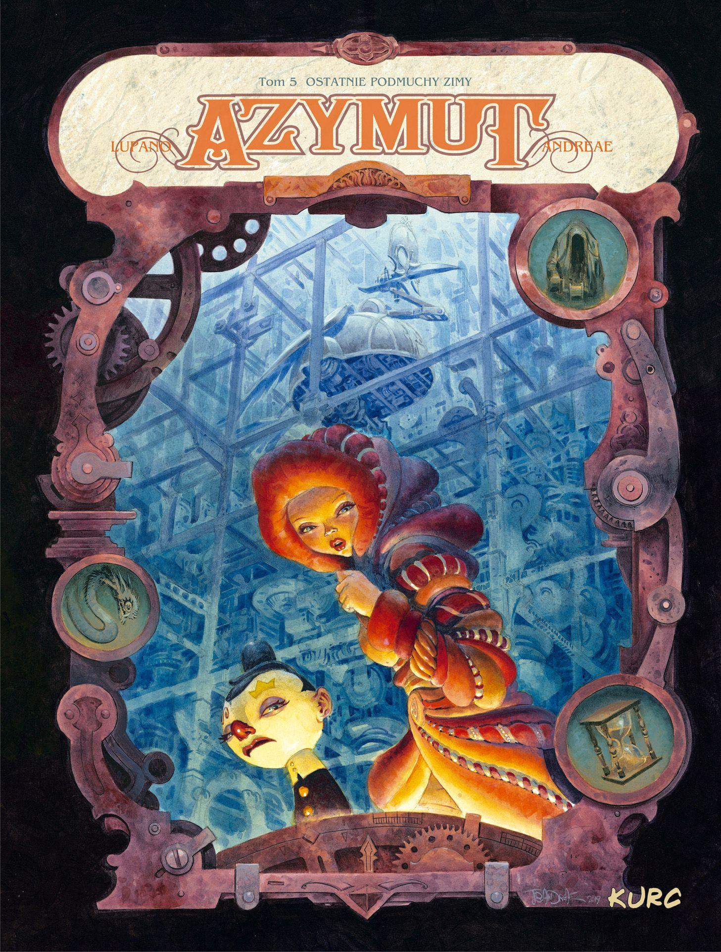 Azymut. Tom 5 - okładka