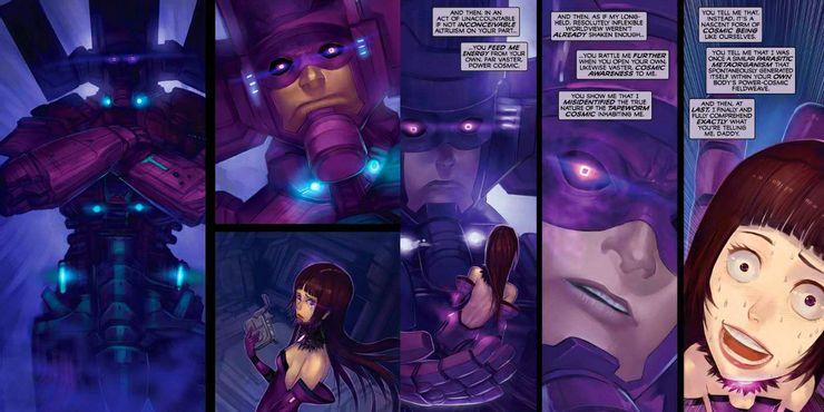Galacta: Daughter of Galactus - plansze
