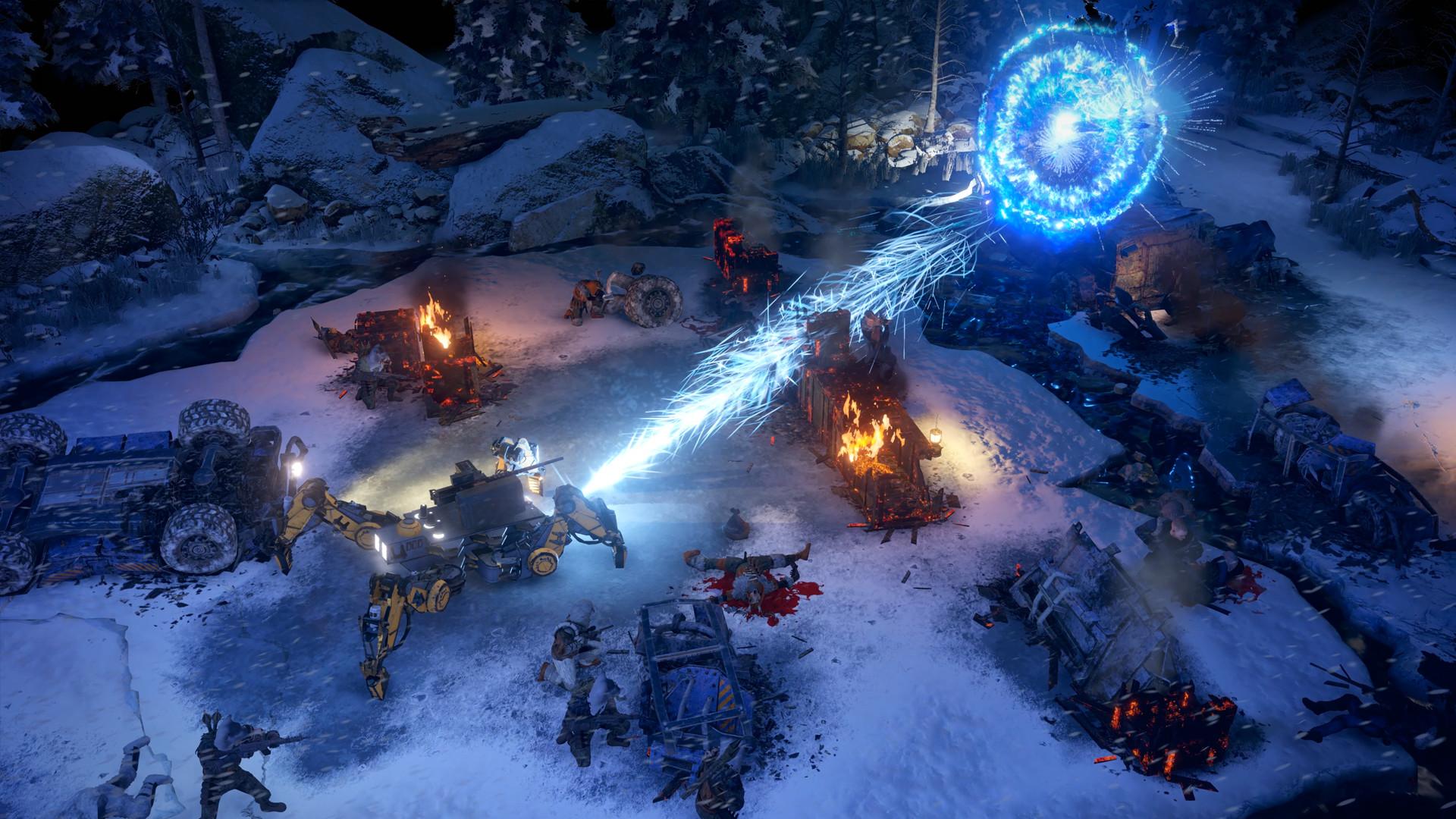 Wasteland 3 - screeny z gry
