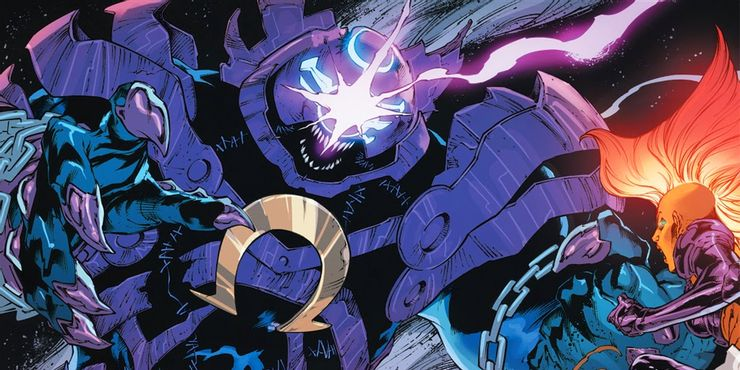 Justice League #55 - plansze