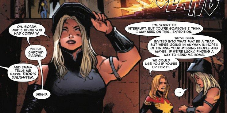 Captain Marvel #23 - plansze