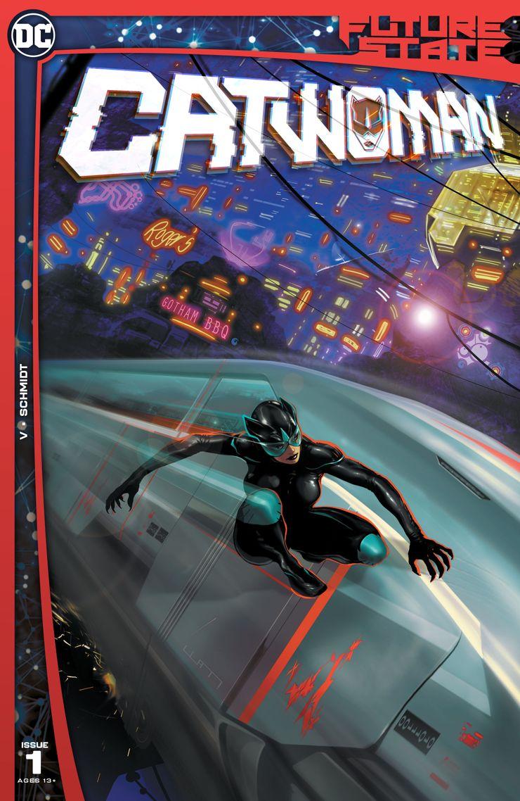 Future State: Catwoman #1 - okładka