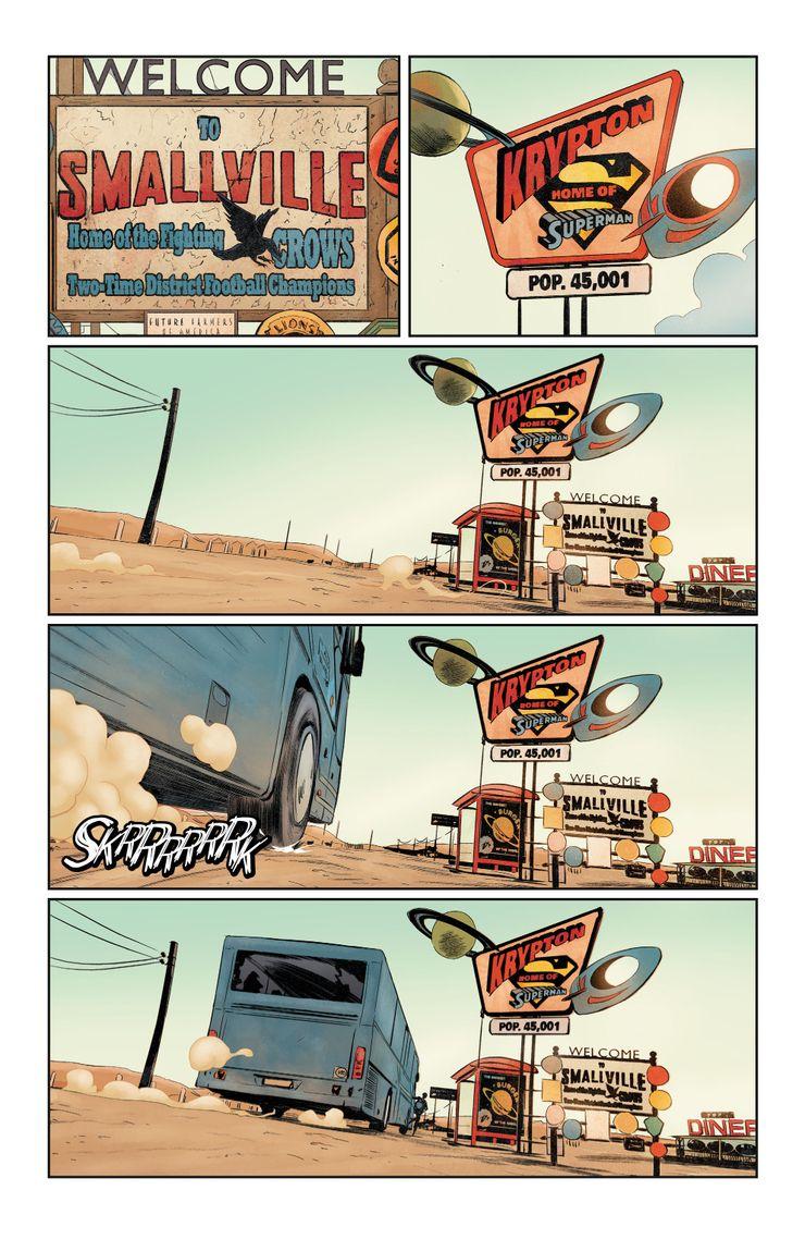 Future State Superman: Worlds of War #1 - plansze