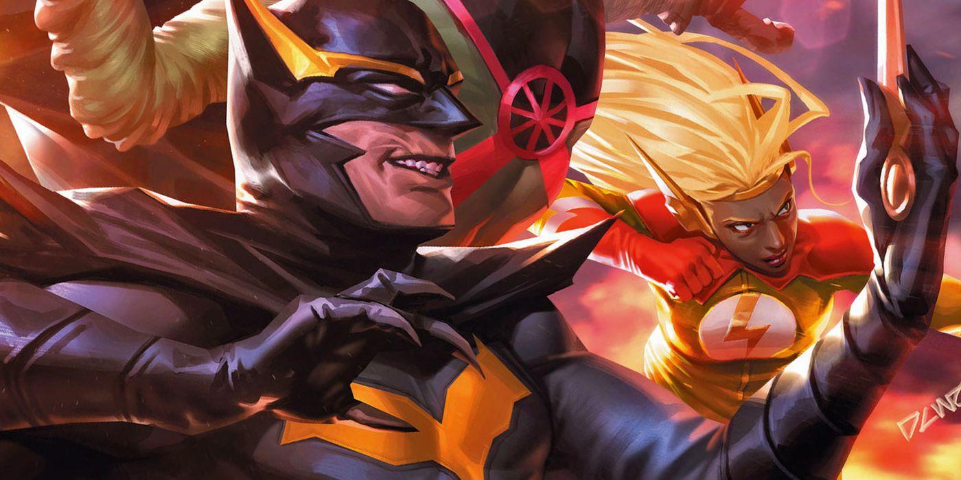 William Cobb aka Talon - zabójca pracujący wcześniej dla Trybunału Sów; zgodził się na dołączenie do grupy po otrzymaniu obietnicy, że będzie miał szansę na zamordowanie wszystkich kosmitów przebywających na Ziemi; jego wygląd kojarzy się z Batmanem.