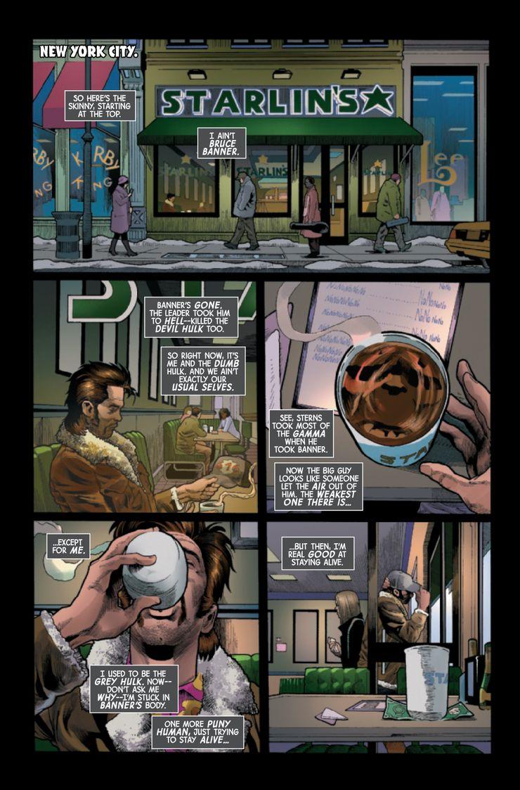 Immortal Hulk #43 - plansze