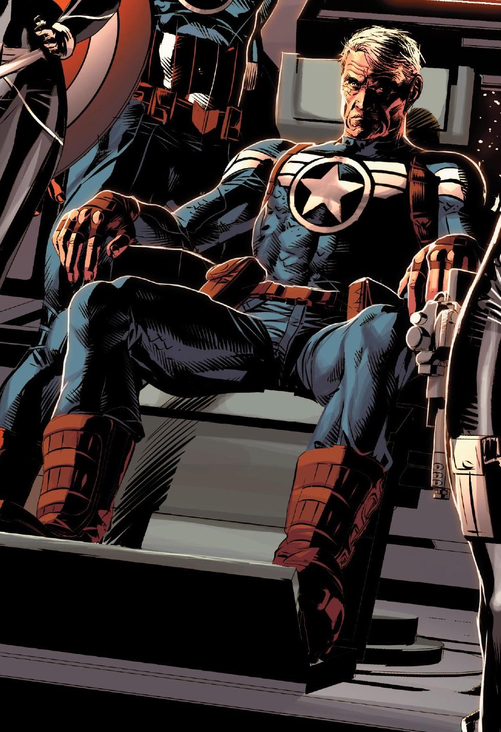 Kapitan Ameryka w starszej wersji