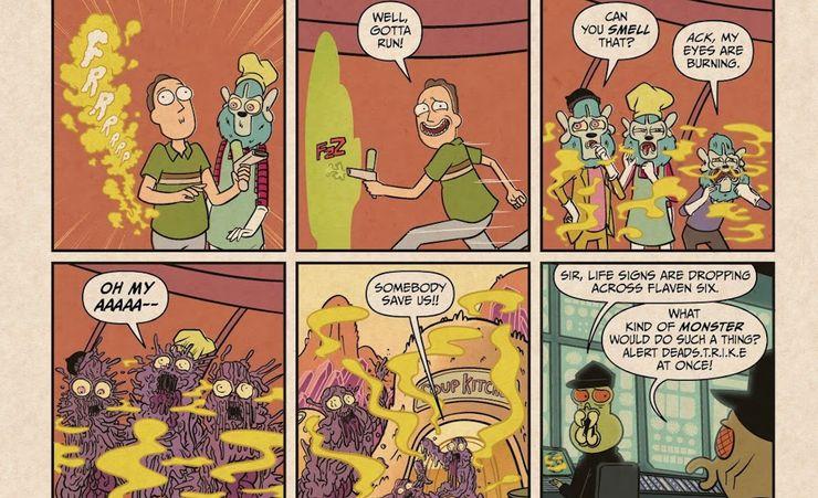 Rick and Morty Presents: Jaguar - plansze