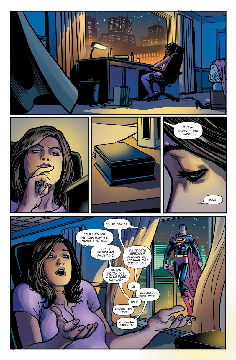 Superman. Tom 3. Prawda ujawniona - plansze