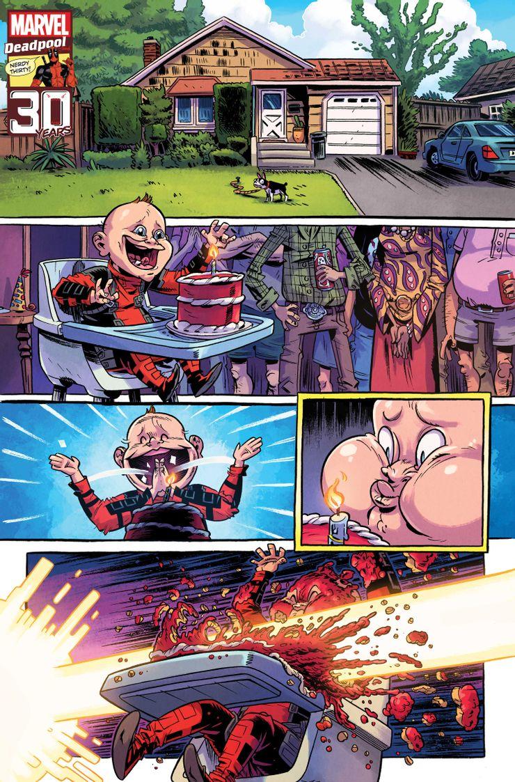 Deadpool Nerdy Thirty - materiały promocyjne