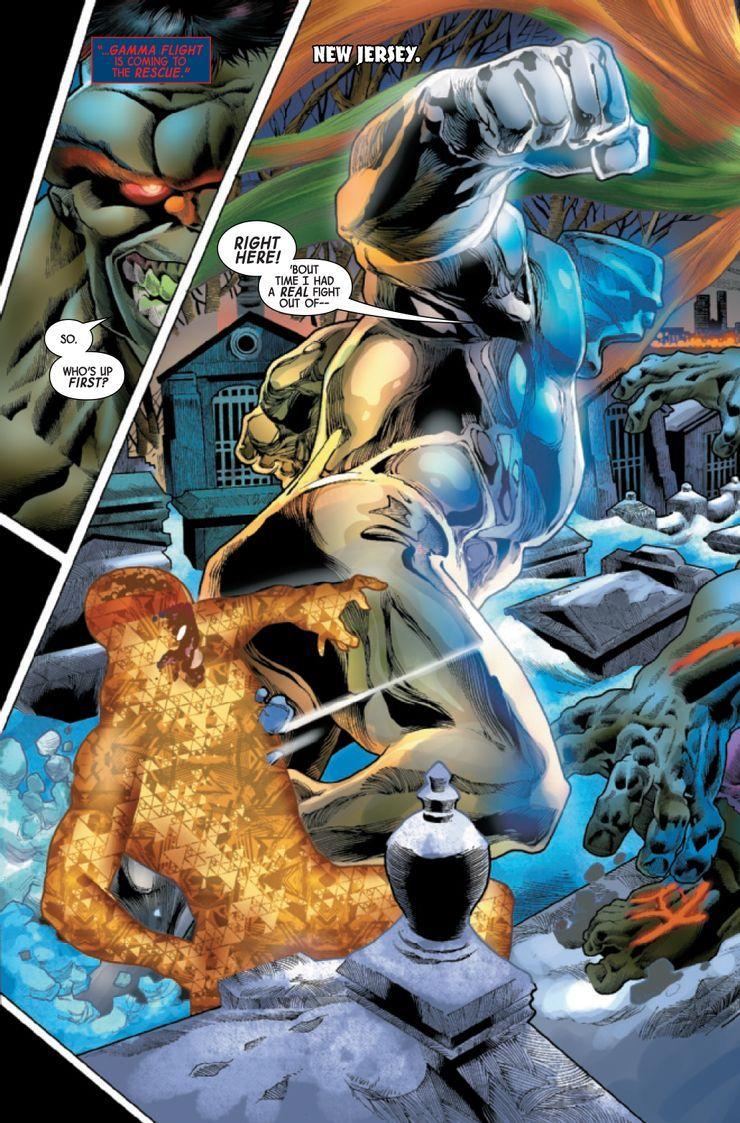 Immortal Hulk #46 - plansze