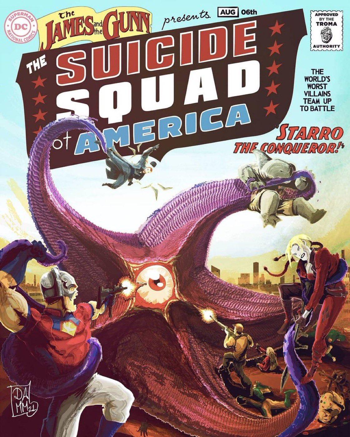 Legion samobójców. The Suicide Squad - plakat