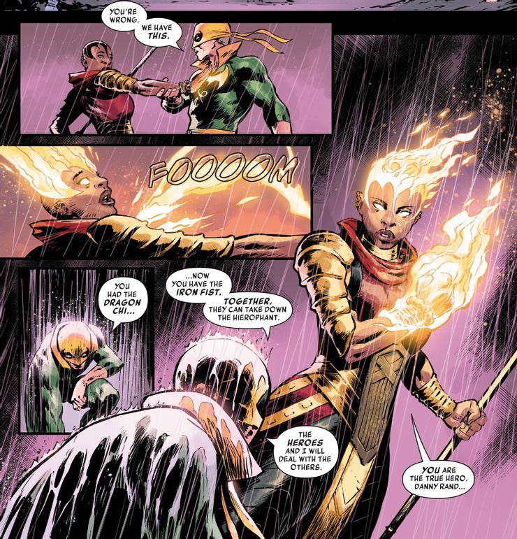 Iron Fist: Heart of the Dragon #6 - plansze