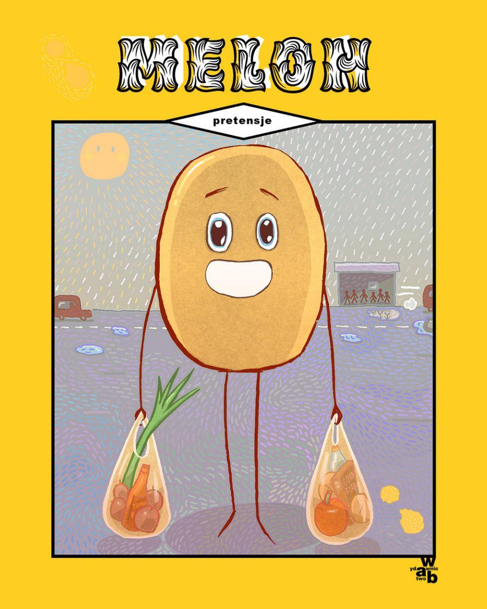 Melon. Pretensje - okładka