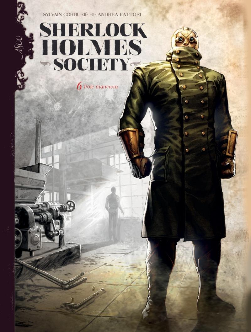 Sherlock Holmes Society. Tom 6. Pole manewru - okładka