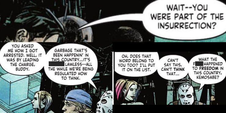 Suicide Squad: Get Joker #1 - plansze