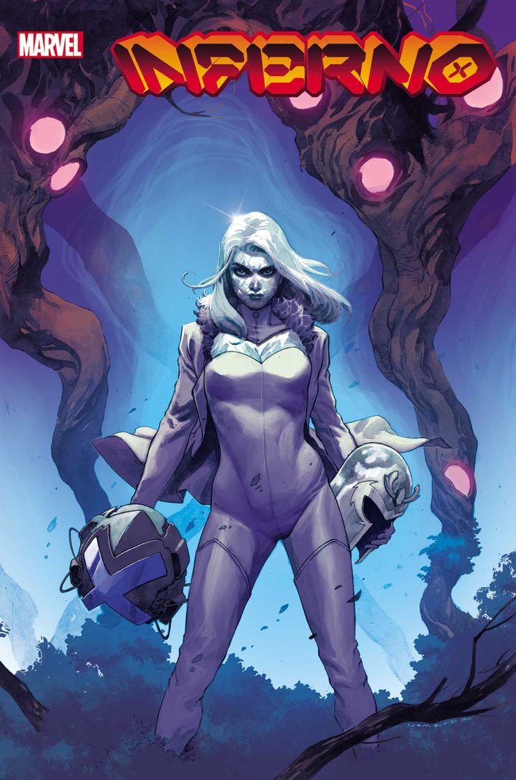 X-Men: Inferno #2 - okładka