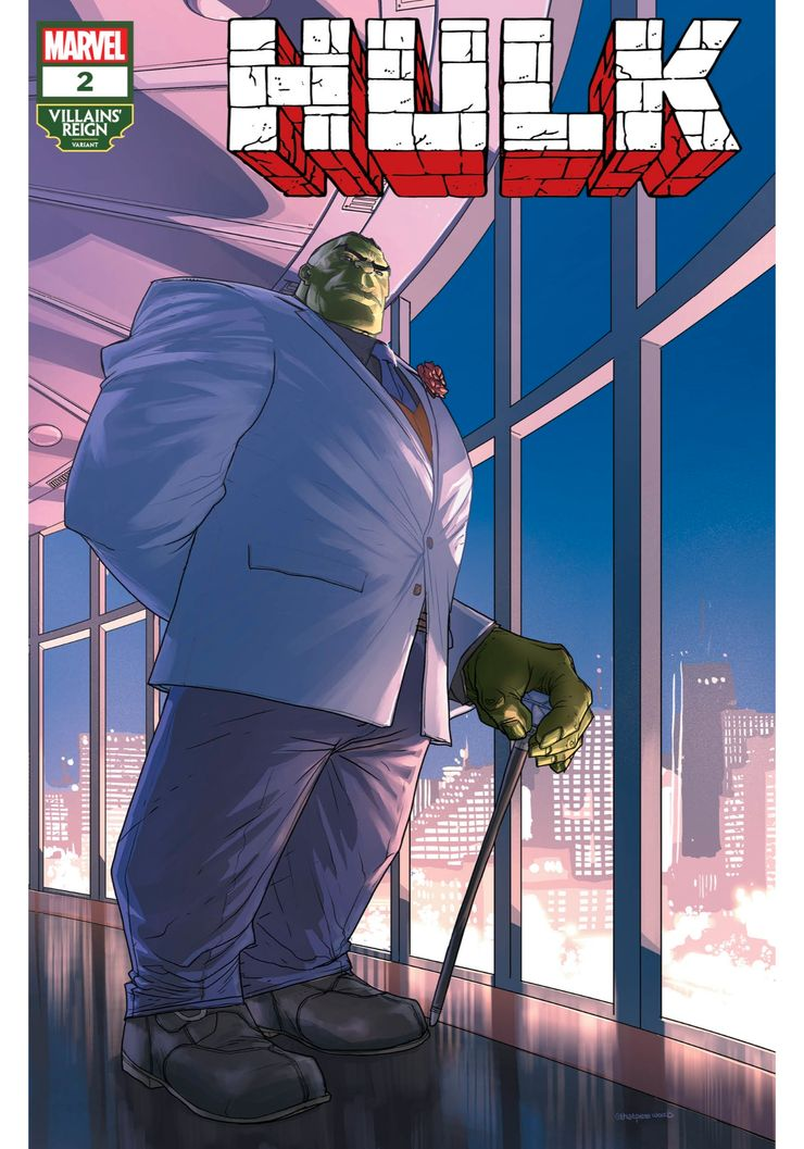 Hulk #2 - okładka alternatywna