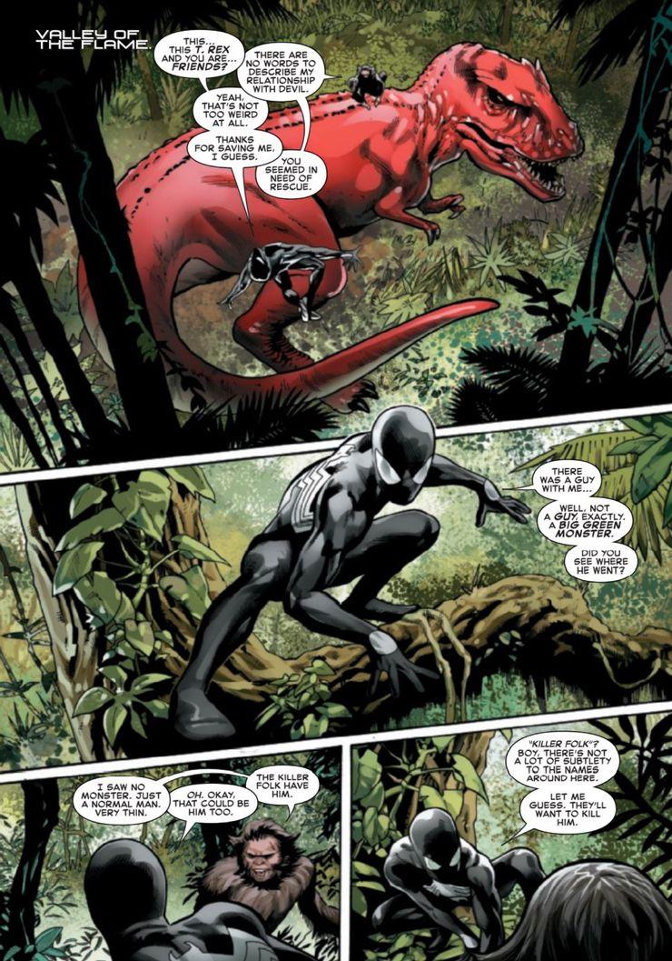Symbiote Spider-Man: Crossroads #3 - plansze