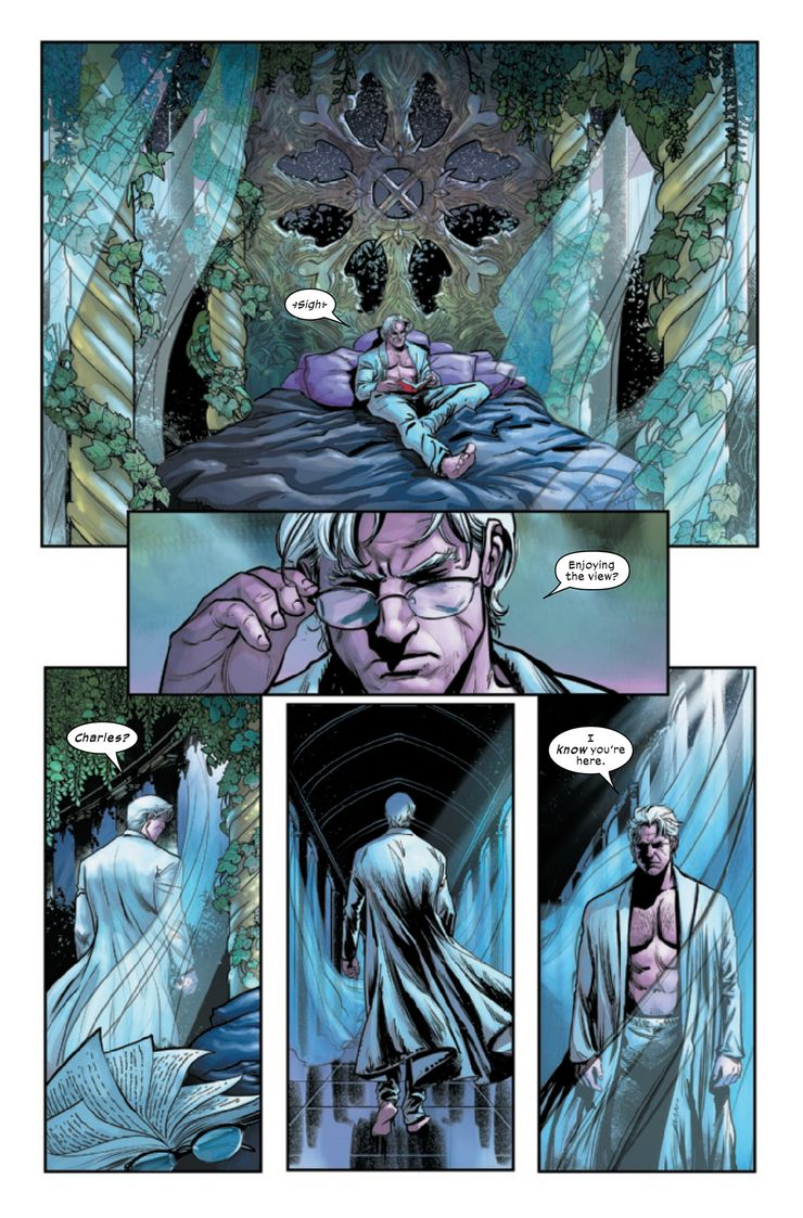 The Trial of Magneto #2 - plansze