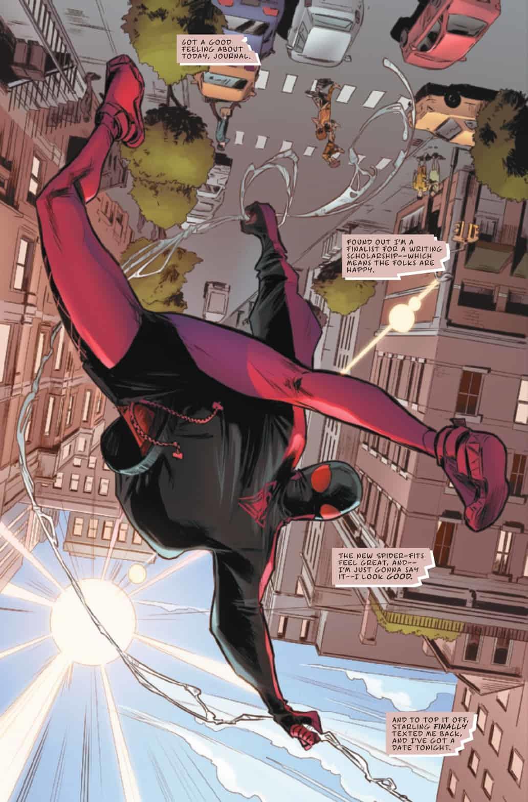 Miles Morales: Spider-Man #30 - plansze
